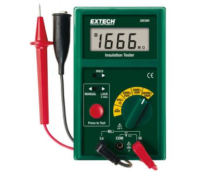 Измеритель сопротивления изоляции/мегомметр Extech 380360