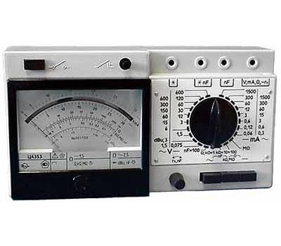 Тестер-мультиметр Ц4353