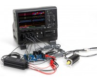 Осциллограф высокого разрешения + анализатор электрической мощности MDA803AR