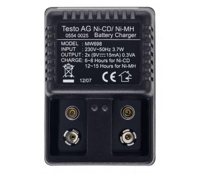 Testo зарядное устройство для 9 В аккумулятора