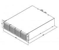 Комплект для монтажа в стойку блока расширения электронных нагрузок PEL-73211 GRA-413-E