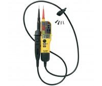 Тестер напряжения/целостности с ЖК-дисплеем и переключаемой нагрузкой FLUKE  T130/VDE
