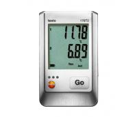 Логгер данных температуры Testo 176 T2 с разъемами для внешних зондов, 2 канала