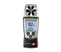Карманный анемометр Testo 410-2 с крыльчаткой и сенсором влажности