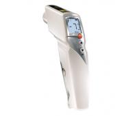 Пирометр для пищевого сектора Testo 831 с 2-х точечным лазерным целеуказателем (оптика 30:1)
