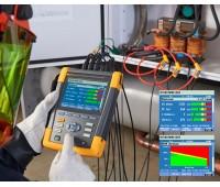 Трехфазный анализатор качества электроэнергии и работы электродвигателей Fluke 438 II